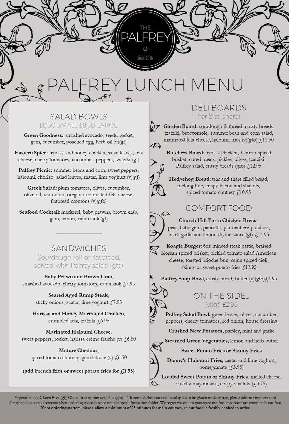 Palfrey Lunch Summer 2017