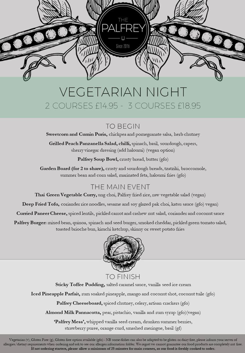 Palfrey Veg Night Summer 2017